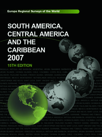 South America, Central America and the Caribbean 2007 book cover