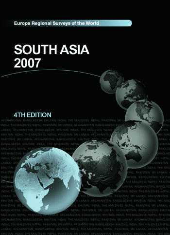 South Asia 2007 book cover