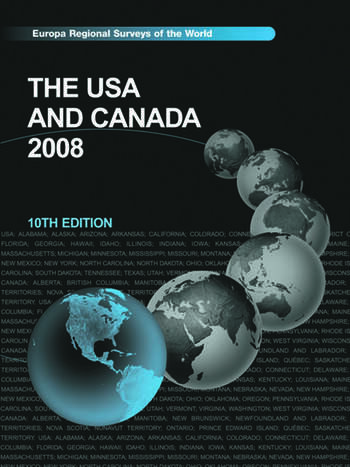 The USA and Canada 2007 book cover