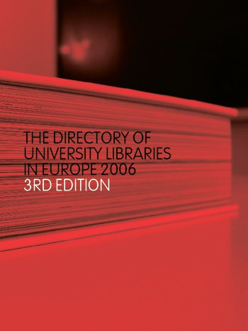 The Directory of University Libraries in Europe 2006 book cover