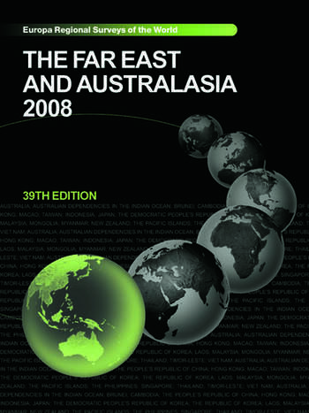 Far East and Australasia 2008 book cover