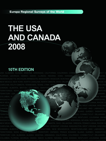 USA and Canada 2008 book cover