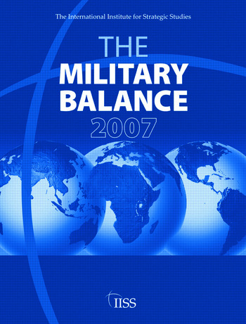 Military Balance 2007 book cover