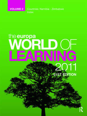 The Europa World of Learning 2007 Volume 2 book cover