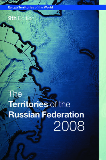 The Territories of the Russian Federation 2008 book cover