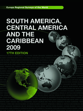 South America, Central America and the Caribbean 2009 book cover
