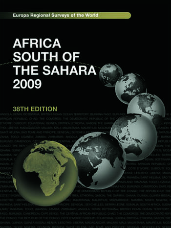 Africa South of the Sahara 2009 book cover