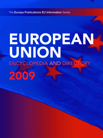 European Union Encyclopedia and Directory 2009 book cover