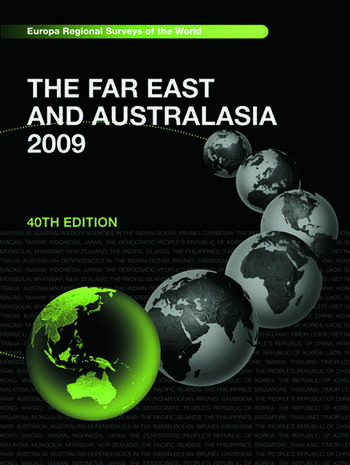Far East and Australasia 2009 book cover
