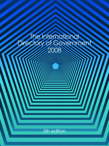International Directory of Government 2008 book cover