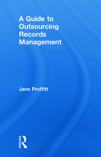 A Guide to Outsourcing Records Management book cover