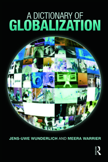 A Dictionary of Globalization book cover