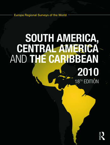 South America, Central America and the Caribbean 2010 book cover