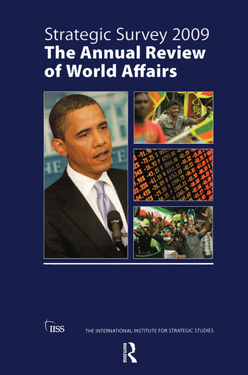 Strategic Survey 2009 book cover