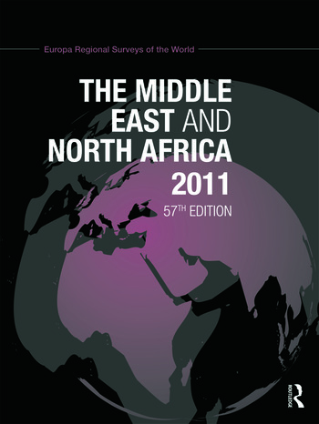 Middle East and North Africa 2010 book cover