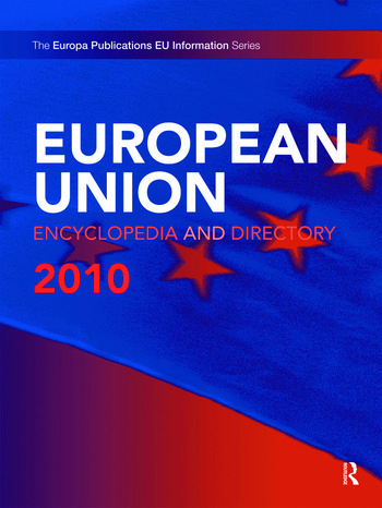European Union Encyclopedia and Directory 2010 book cover