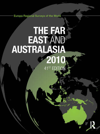 Far East and Australasia 2010 book cover