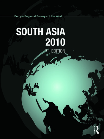South Asia 2010 book cover