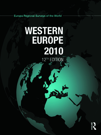 Western Europe 2010 book cover