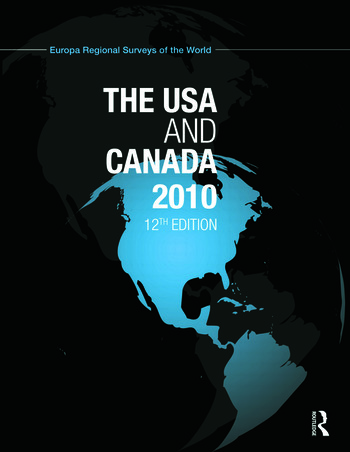 USA and Canada 2010 book cover