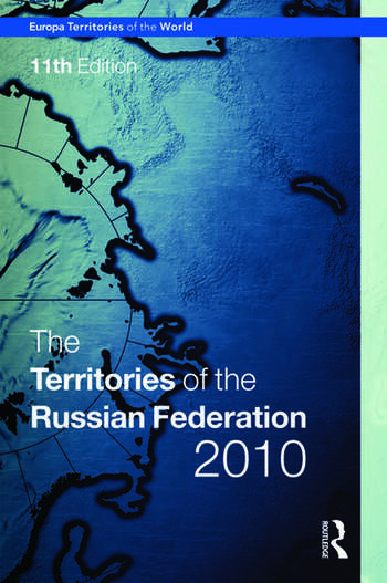 Territories of the Russian Federation 2010 book cover