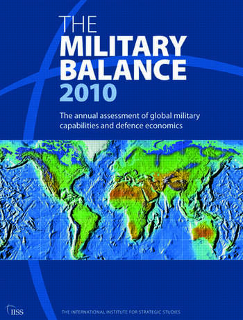 The Military Balance 2010 book cover