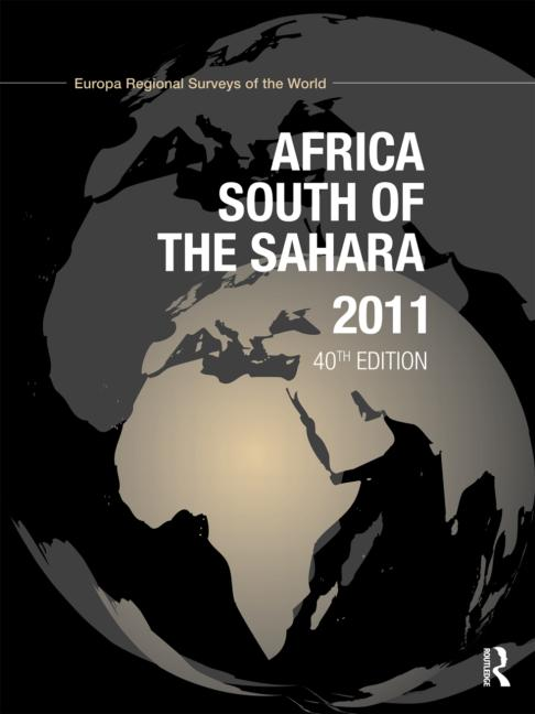 Africa South of the Sahara 2011 book cover
