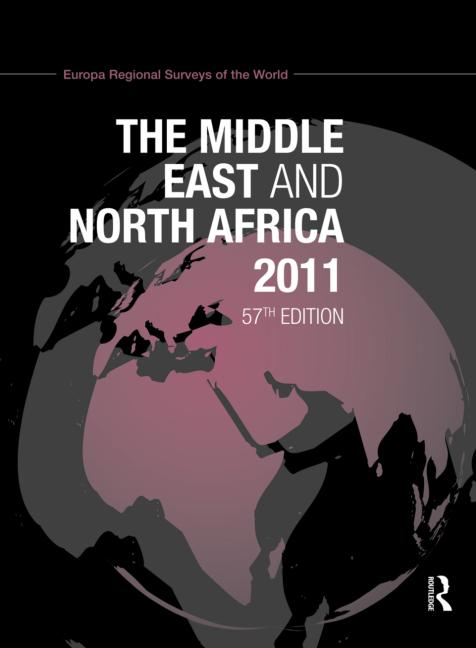 The Middle East and North Africa 2011 book cover