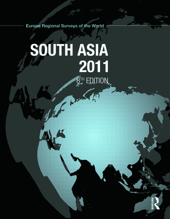 South Asia 2011 book cover