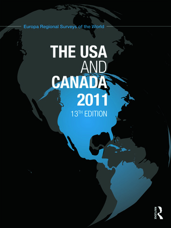 The USA and Canada 2011 book cover