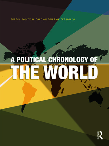 A Political Chronology of the World book cover
