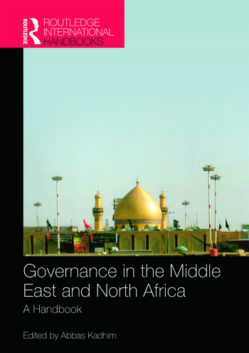 Governance in the Middle East and North Africa A Handbook book cover