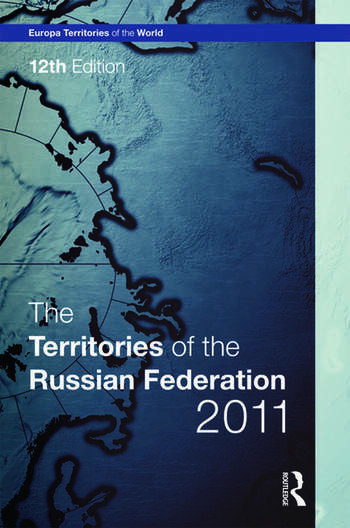 The Territories of the Russian Federation 2011 book cover