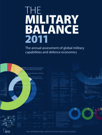 The Military Balance 2011 book cover