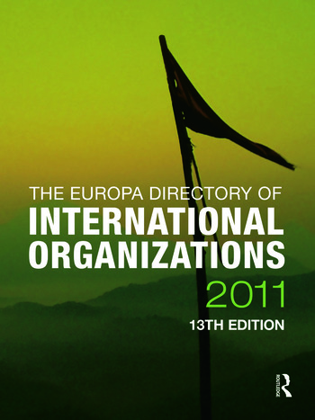 The Europa Directory of International Organizations 2011 book cover