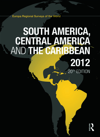 South America, Central America and the Caribbean 2012 book cover