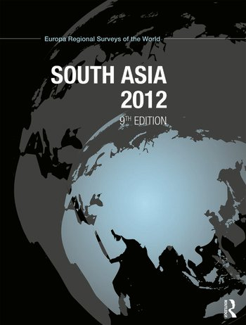 South Asia 2012 book cover