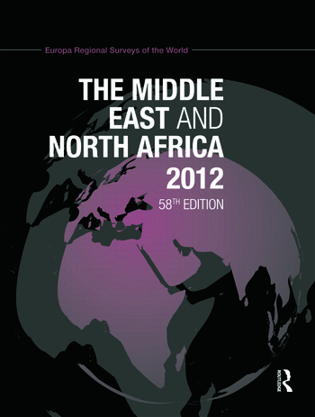 The Middle East and North Africa 2012 book cover