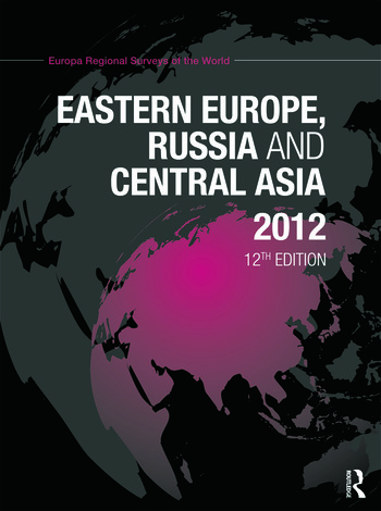 Eastern Europe, Russia and Central Asia 2012 book cover