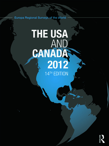 The USA and Canada 2012 book cover