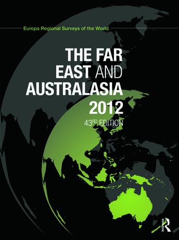 The Far East and Australasia 2012 book cover