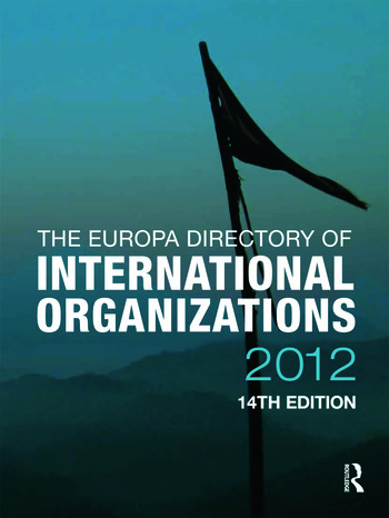 The Europa Directory of International Organizations 2012 book cover