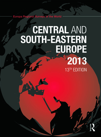 Central and South-Eastern Europe 2013 book cover