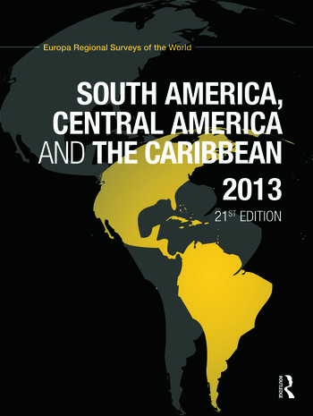 South America, Central America and the Caribbean 2013 book cover