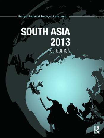 South Asia 2013 book cover
