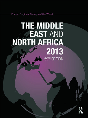 The Middle East and North Africa 2013 book cover