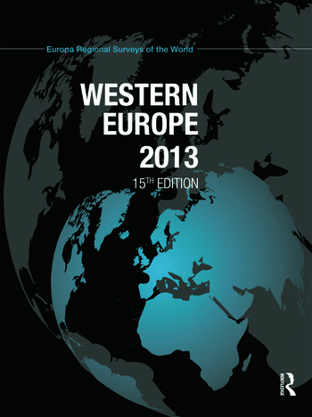Western Europe 2013 book cover