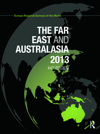 The Far East and Australasia 2013 book cover