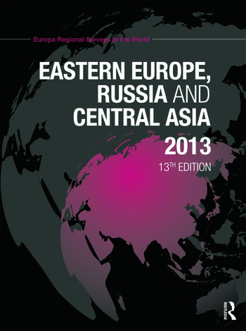 Eastern Europe, Russia and Central Asia 2013 book cover