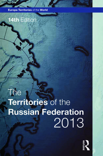 The Territories of the Russian Federation 2013 book cover